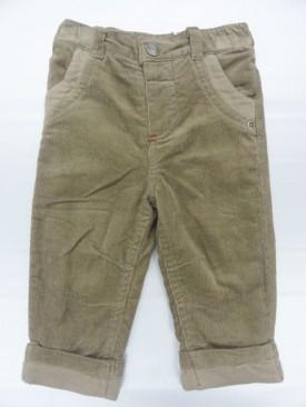 Pantalon velours garçon 100% coton