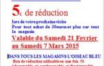bon de reduction de fevrier 2015